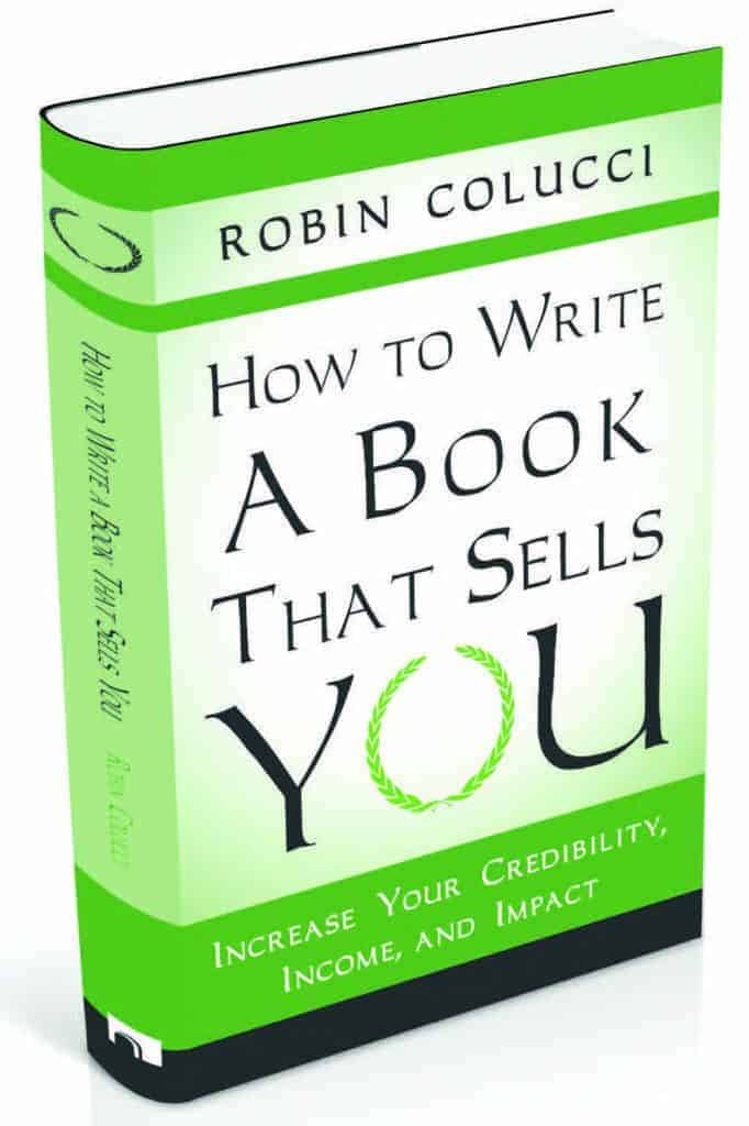 robin colucci's How to write a book that sells you
